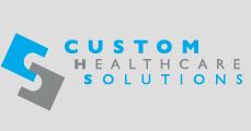 Custom healthcare solutions logo
