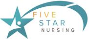 Five star nursing logo